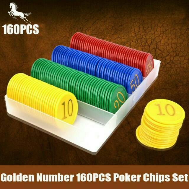Free Ongkir Poker Chips Koin Poker Plastik Shopee Indonesia