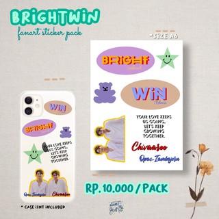 Holy Trinity Brightwin Mewgulf Fanart Sticker Pack Shopee Indonesia