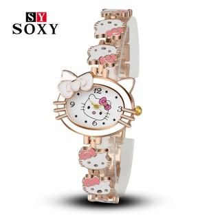 Jam Tangan Relojes Mujer Per hello kitty
