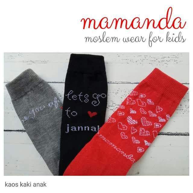 Kaos Kaki Mamanda untuk Anak dan Remaja