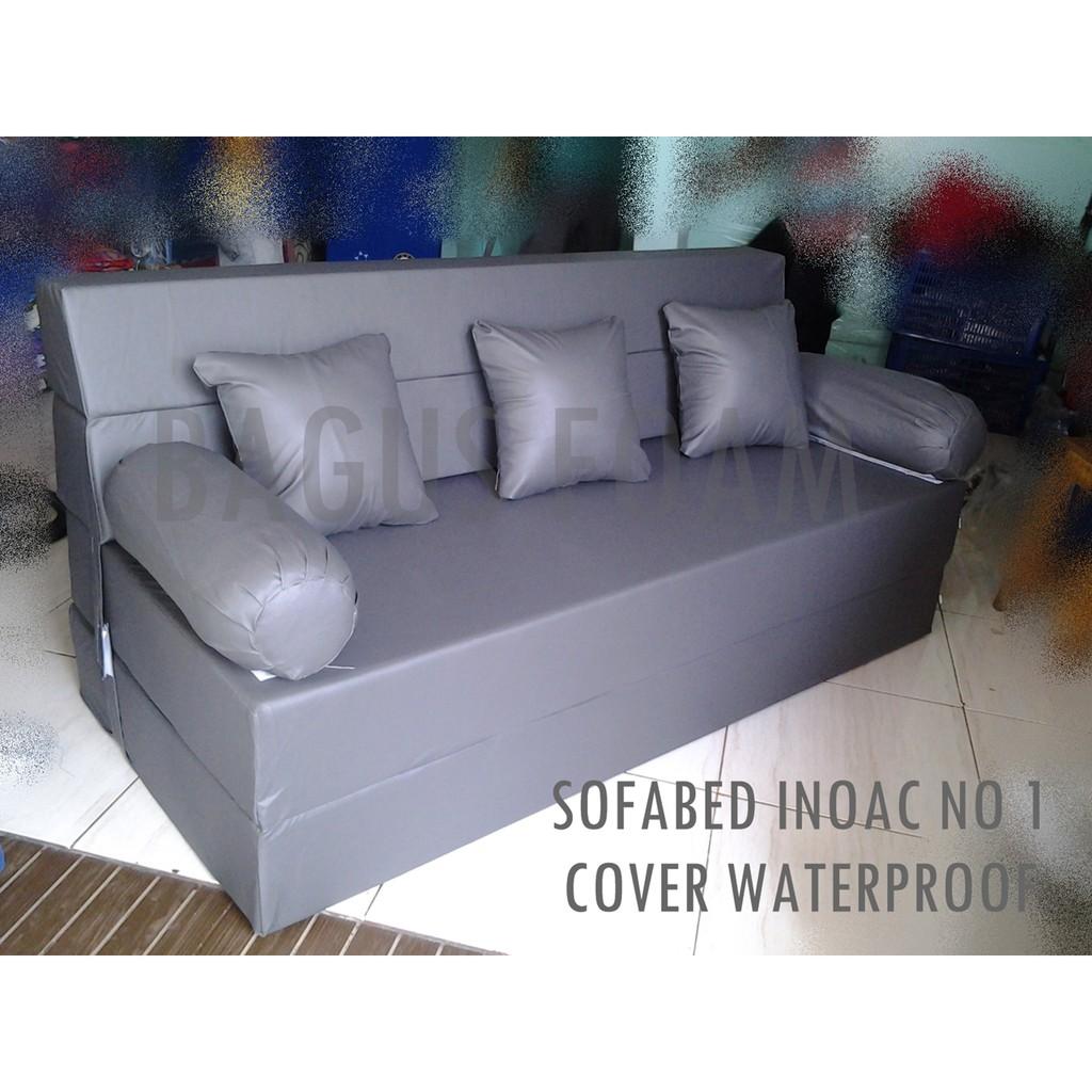 Sofa BEd Inoac 3 In 1 All SizeEON LG D23 LIGHT GREEN Shopee Indonesia