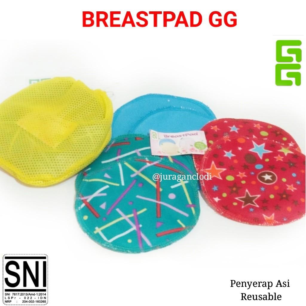 Breastpad Gg Penyerap Asi Breast Pad Cuci Ulang Shopee Indonesia Avent
