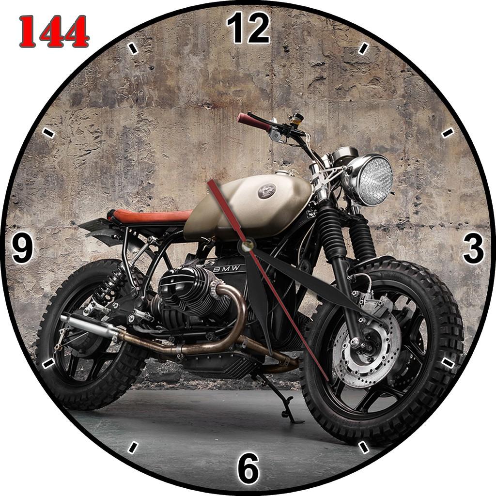 146 Jam Dinding Keren Bahan MDF Hiasan Interior Motif Motor Klasik ... 6b286ba273