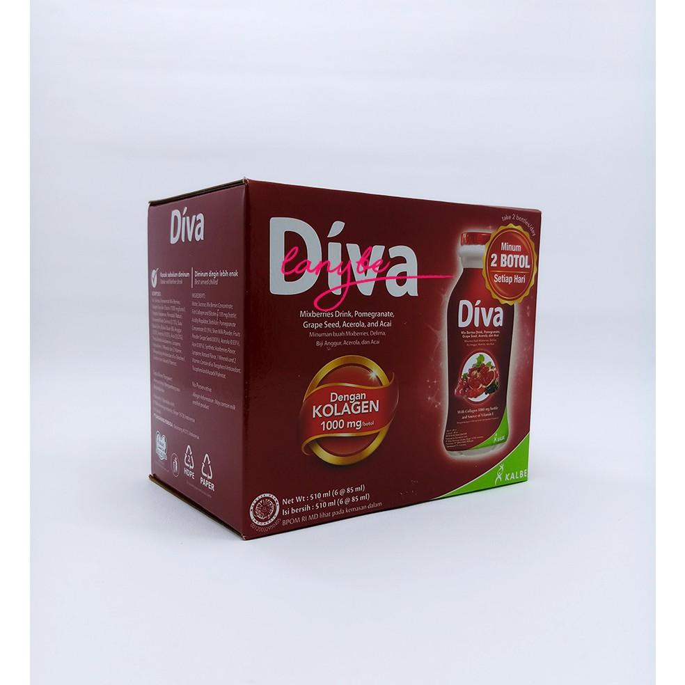 Diva Beauty Drink Shopee Indonesia Collagen Elastin 16x80ml