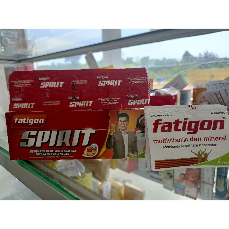 Fatigon spirit / fatigon putih