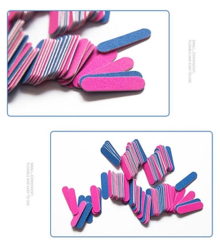 Nail File Frosted Double Sided Manicure Tool 7