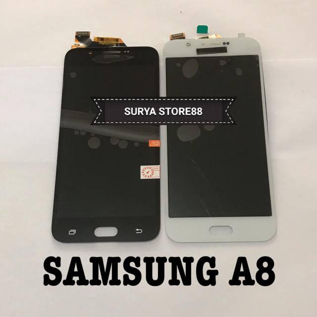 LCD 1 SET SAMSUNG GALAXY A8 2015 A800 OLED