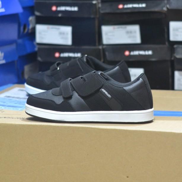 Airwalk Karson Jr Sepatu Sneakers Anak Laki Laki Hitam - Smart4K ... 597f09cc96