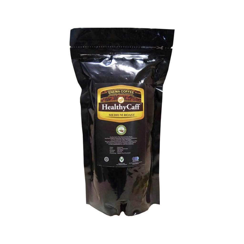 Healthycaff Kopi Enema Light Roast 500gr Daftar Harga Terbaik Roasting Siap Pakai Untuk 1 Kg Gold Organik Organic Shopee Indonesia