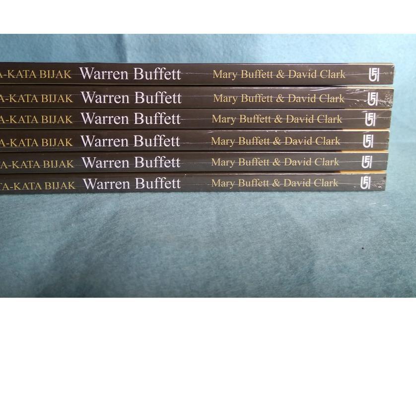 Best Seller 125 Kata Kata Bijak Warren Buffett Untuk Menjadi Kaya Dan Tetap Kaya Marry Buffet Shopee Indonesia