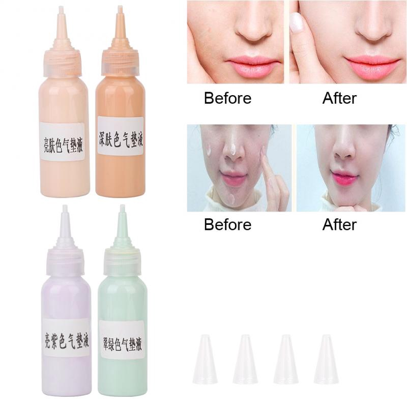 Xunb 30g Diy Liquid Foundation Cosmetics Skin Tone Reconciling Concealer Liquid Air Cushion Liquid