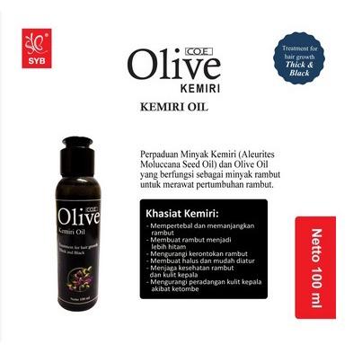 SYB CO.E Olive Hair Treatment - Shampoo Conditioner Tonic Black Kemiri Oil Mask Serum Kids-6