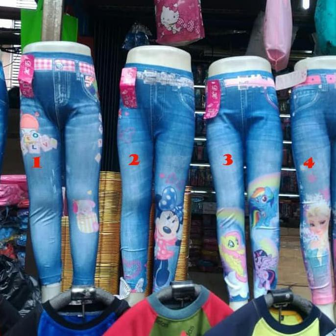 Legging Anak Semi Levis Celana Anak Perempuan Legging Anak Terbaru Shopee Indonesia