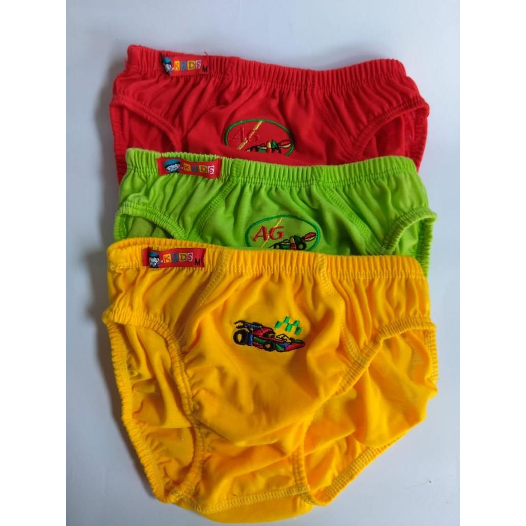 Celana Dalam Anak AGREE kids 3in1 (isi 3) ad4262dcd9