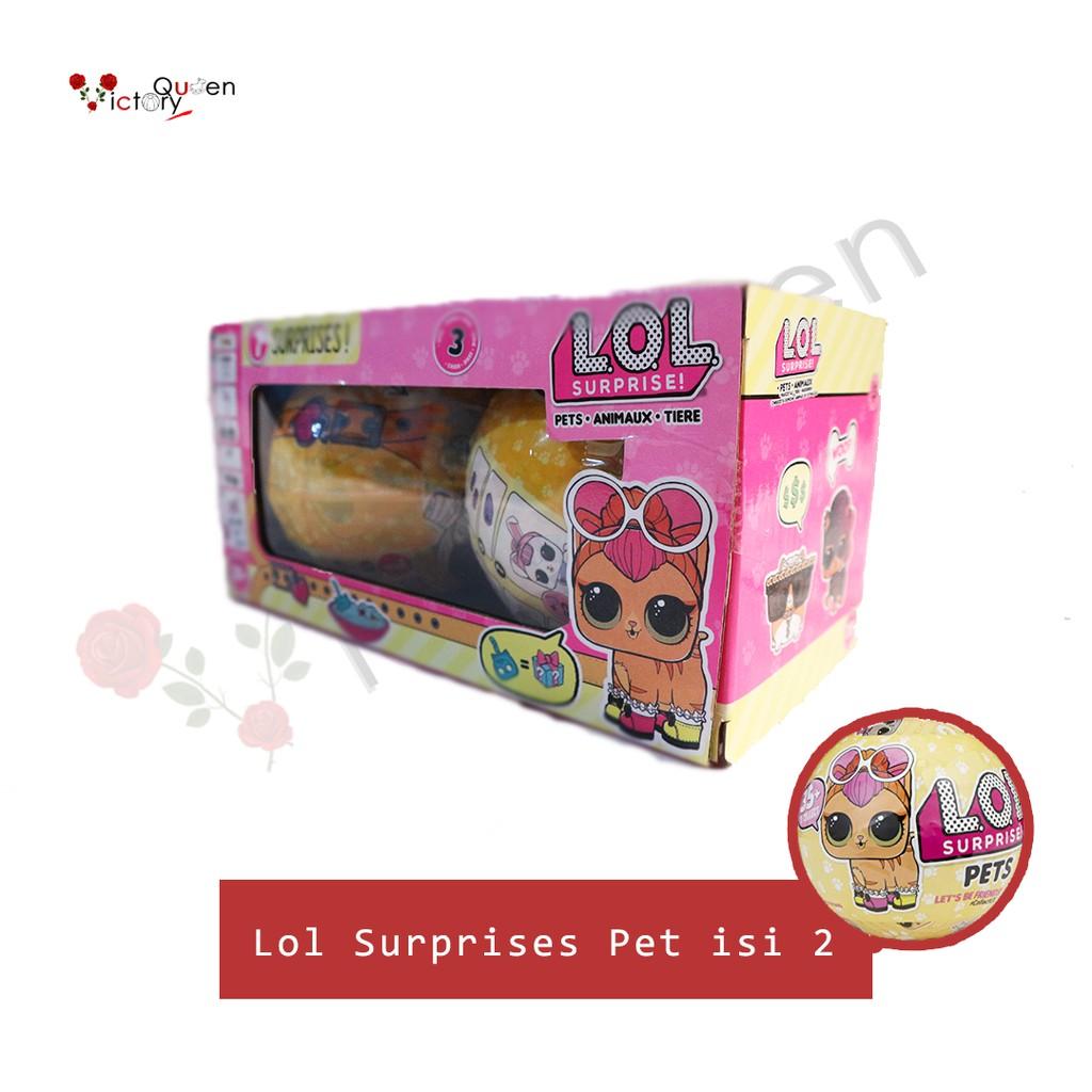 Lol Surprise Pet Animaux Surprise Binatang Hewan Mainan Edukasi Anak Toys Boneka Lucu Original Shopee Indonesia