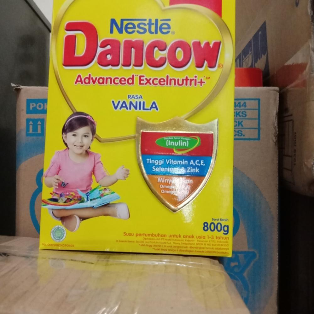 Stok Dancow Fortigro Full Cream 800g Terbatas Shopee Indonesia Instan Coklat
