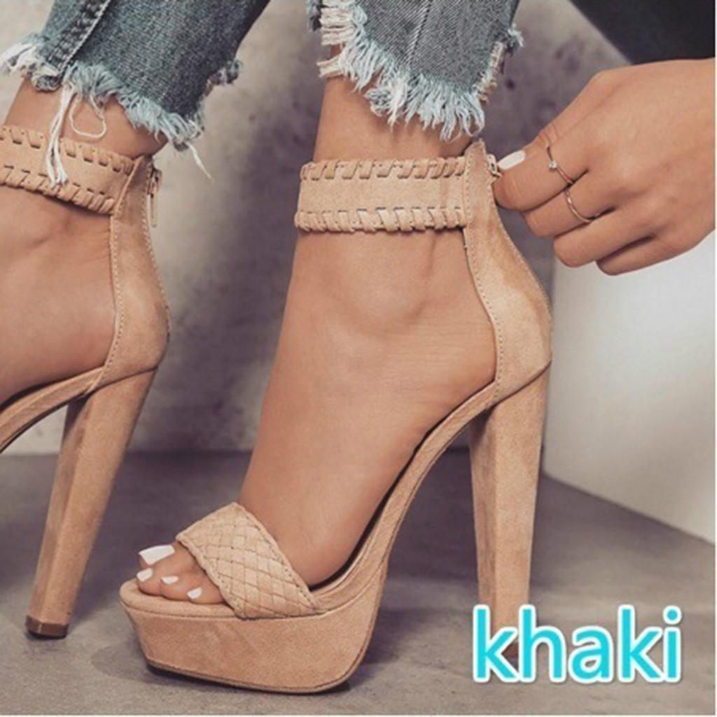 Sepatu Wanita High Heels Hak Tahu Gladiator Daftar Harga Terbaik D Tb41 Yjfashion Sandal Model Stiletto Ada Ukuran Besar Shopee Indonesia