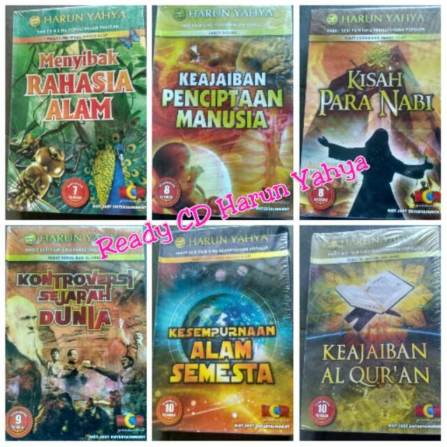 Kaset VCD dari Harun Yahya yang ramai dibahas di Indonesia. (Shopee)