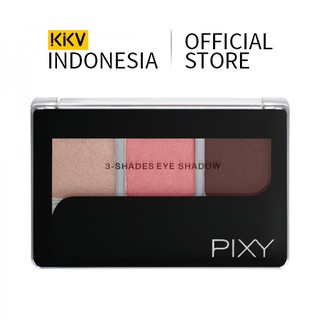 KKV - PIXY 3-Shades Eye Shadow Chic Terracotta 11 3.75g Eyeshadow Eye Makeup Riasan Mata thumbnail