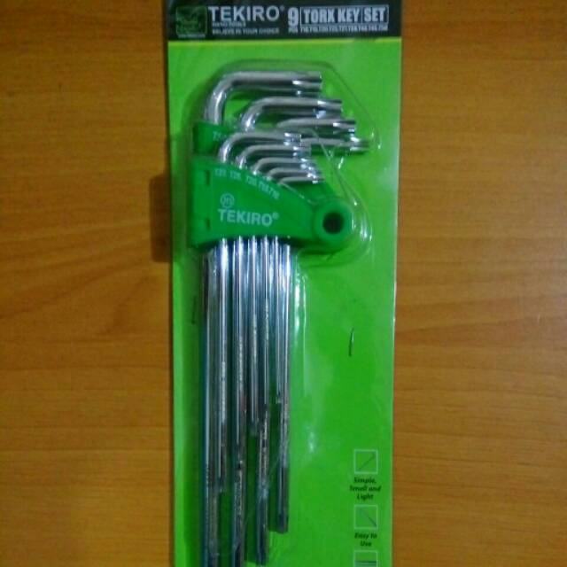 "KUNCI SOK SET 10PC / HAND SOCKET SET 1/2""DR 8-24MM TEKIRO 