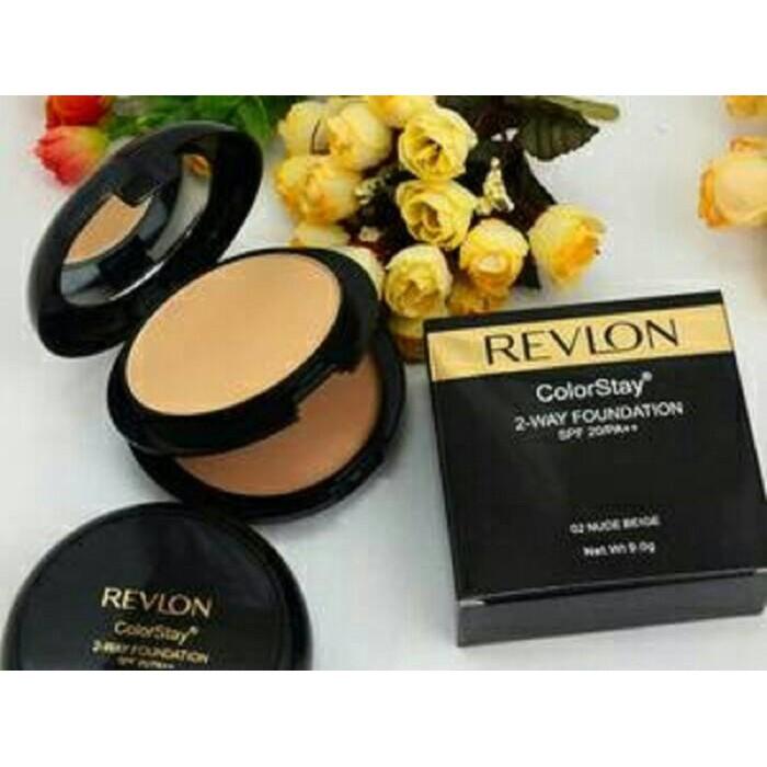 REVLON Photoready Photo Ready Two Way Powder Foundation Bedak   Shopee Indonesia