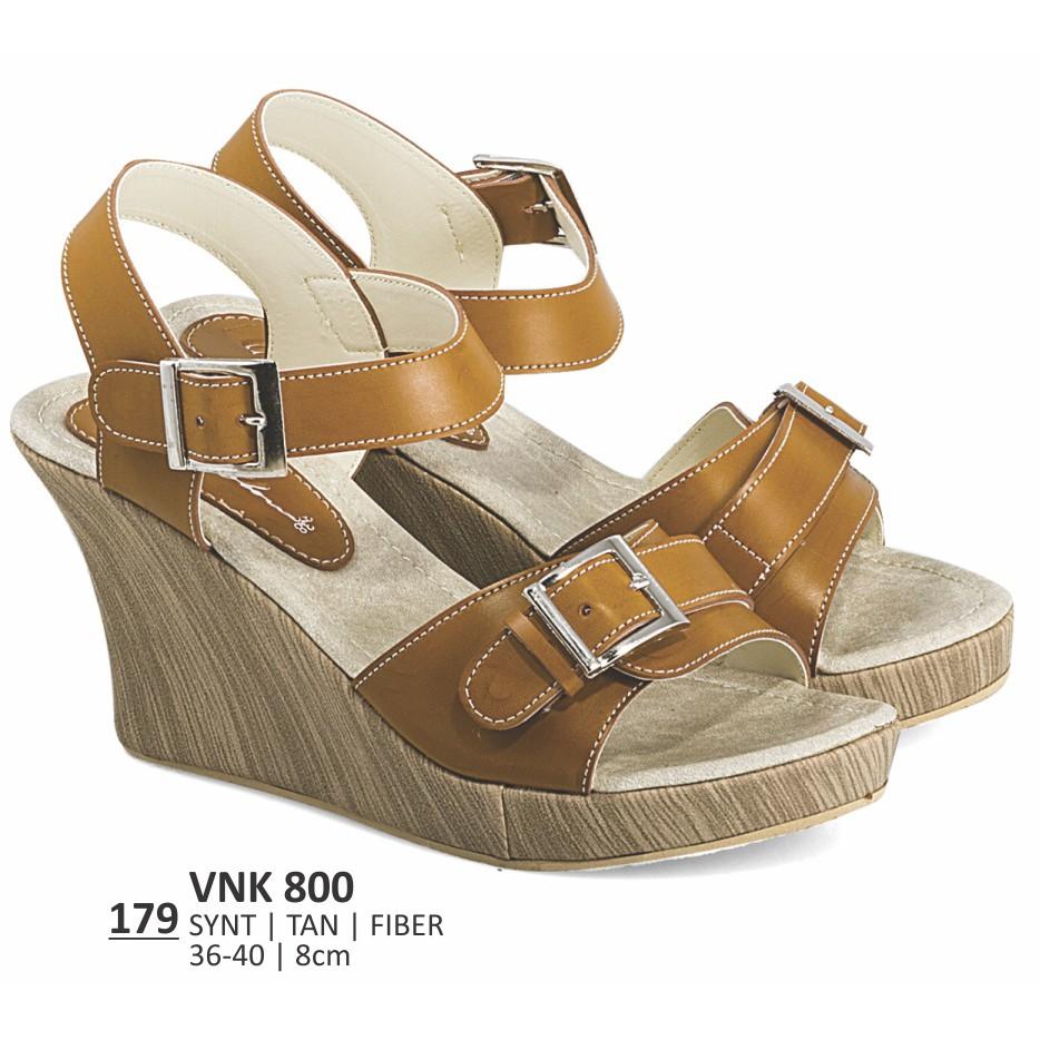 Heels Wanita Everflow Vkt 420 Shopee Indonesia Sandal Flat Kasual Vdg 05