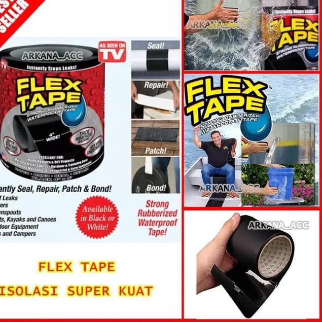 Flex Tape Isolasi Lakban Anti Bocor