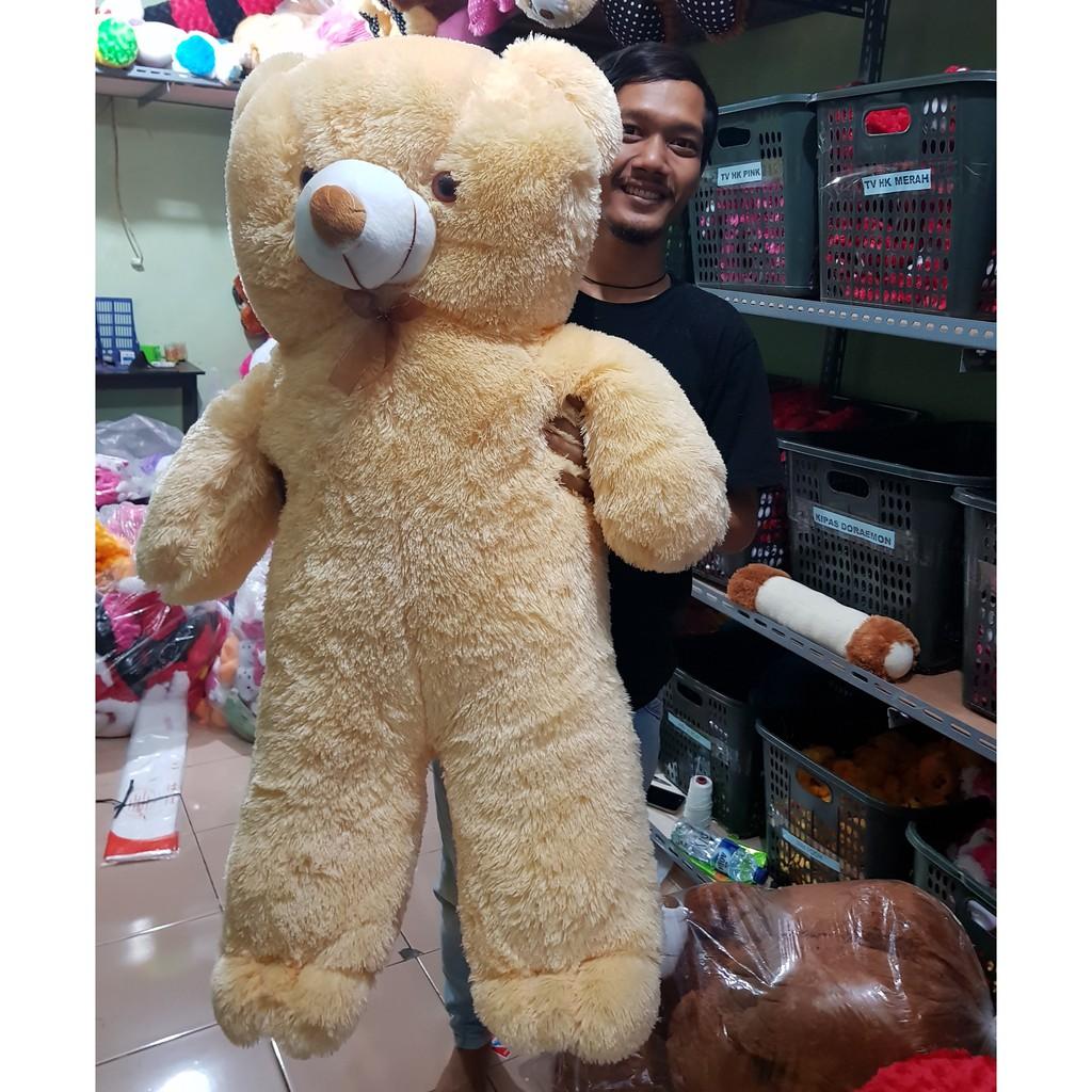 Boneka teddy bear tedy tedi super jumbo besar big  631e26ebed