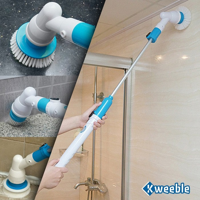 hurricane spin scrubber bathroom cleaner pembersih toilet shopee indonesia. Black Bedroom Furniture Sets. Home Design Ideas