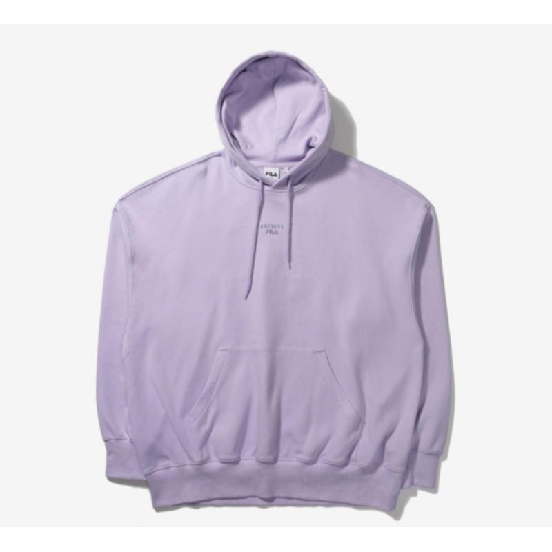 (PO 🇰🇷) FILA BTS JIN LILAC COLOR LIMITED EDITION HOODIE