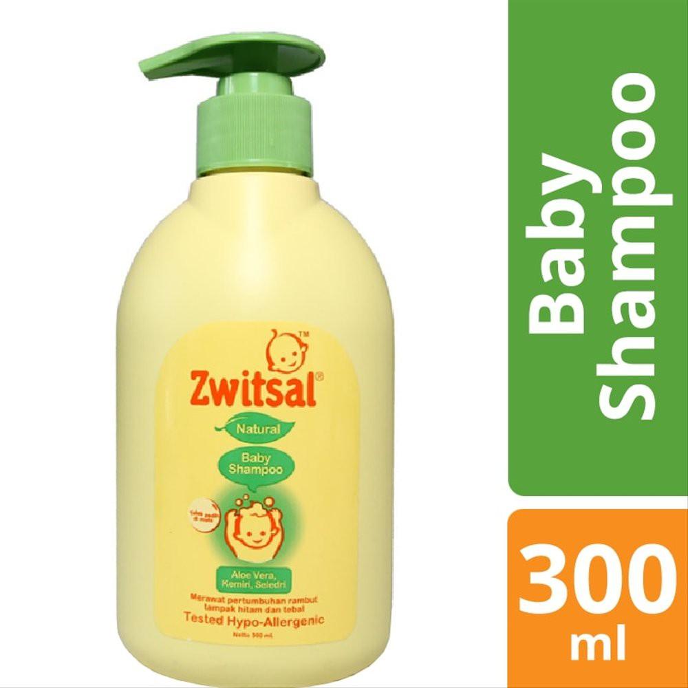 Zwitsal Natural Baby Shampoo Aloe Vera Kemiri dan Seledri-2