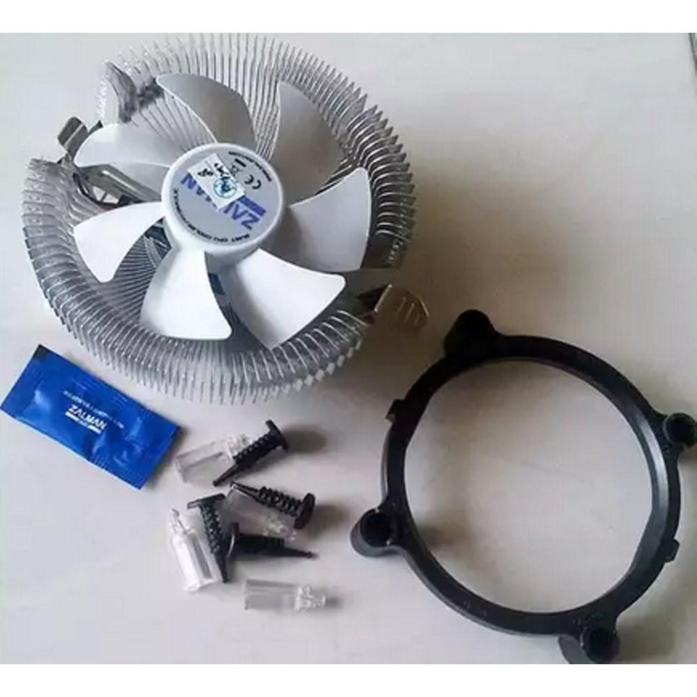 Fan Processor Intel Amd Zalman Cpu Cooler For Kipas Heatsink King Lga 775 Shopee Indonesia