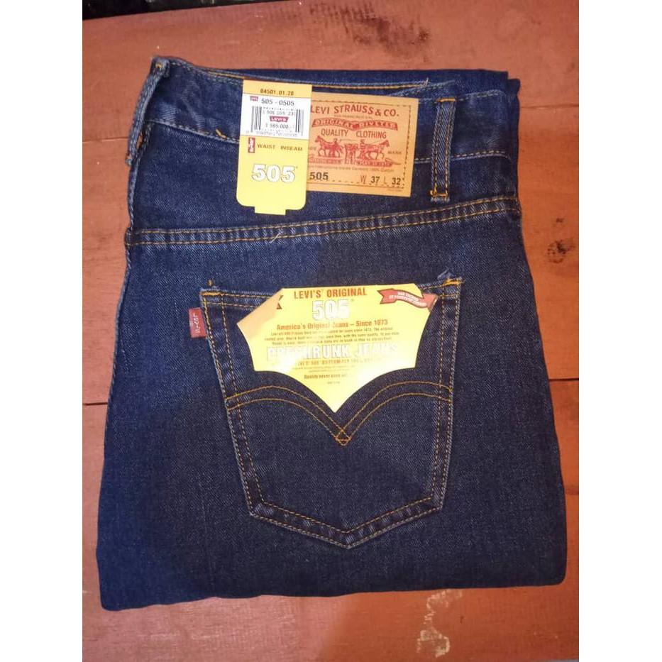 Edwin Celana Jeans Vegas 06 Reguler Fit Pria Panjang Black Garment London Medium Hitam 36 Shopee Indonesia