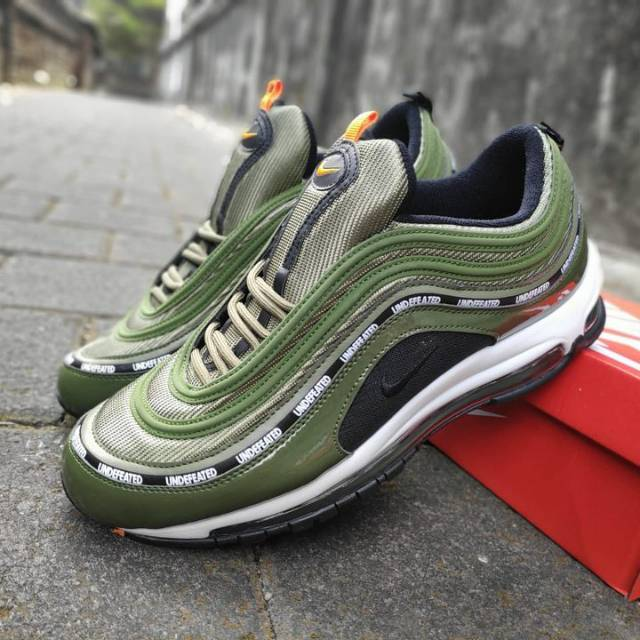 undefeated air max 97 olive