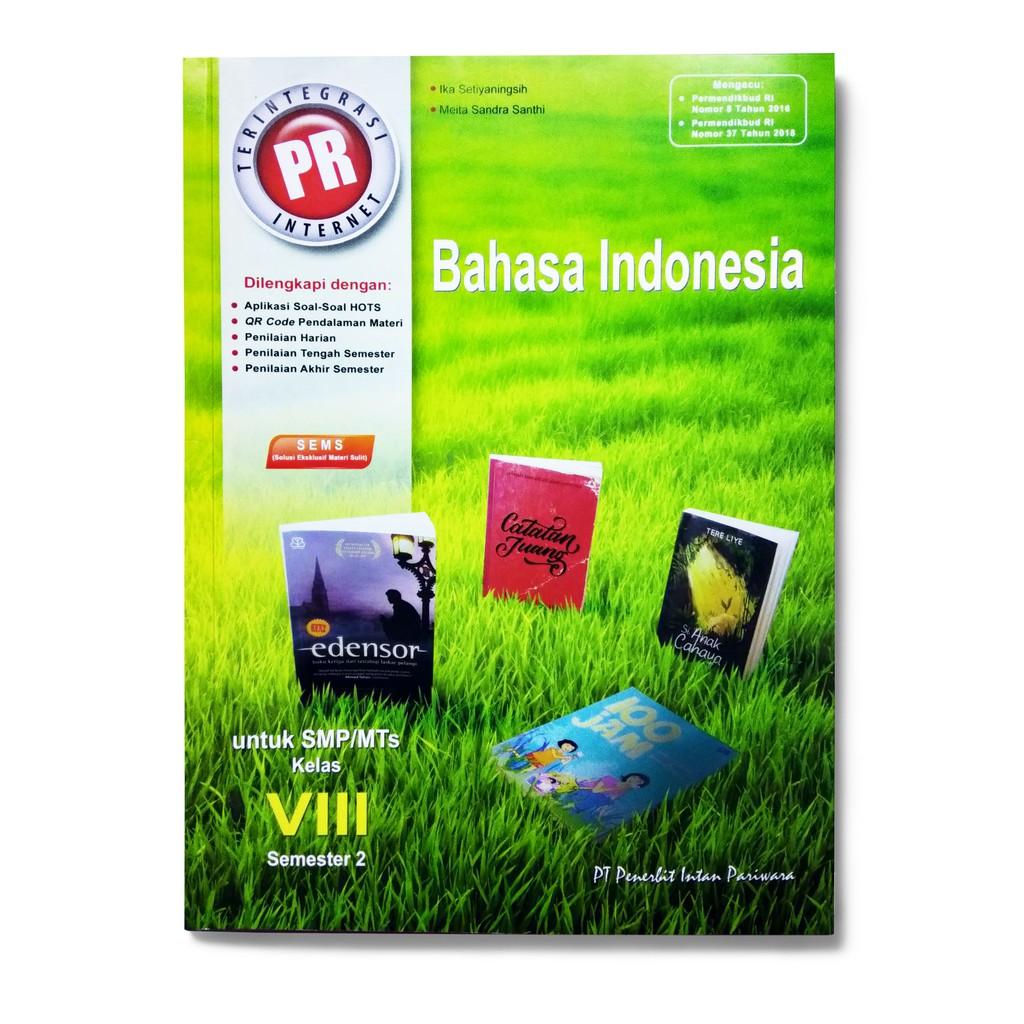 Kunci Jawaban Bahasa Indonesia Kelas 8 Semester 2 Intan Pariwara Guru Galeri