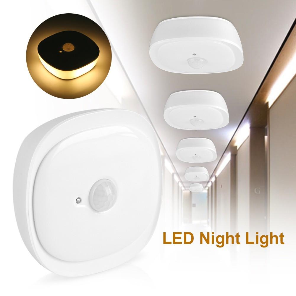 Lampu Malam Lemari Pakaian Sensor Gerak Otomatis ON / OFF 20 LED USB   Shopee Indonesia