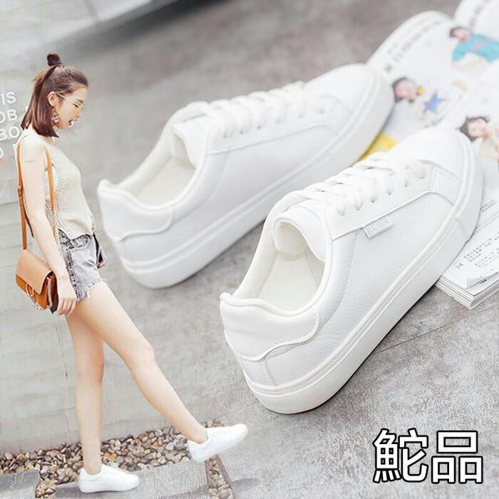 Sneakers JM Putih Garis / Sneakers Wanita Casual/ Kets Sport Wanita | Shopee Indonesia