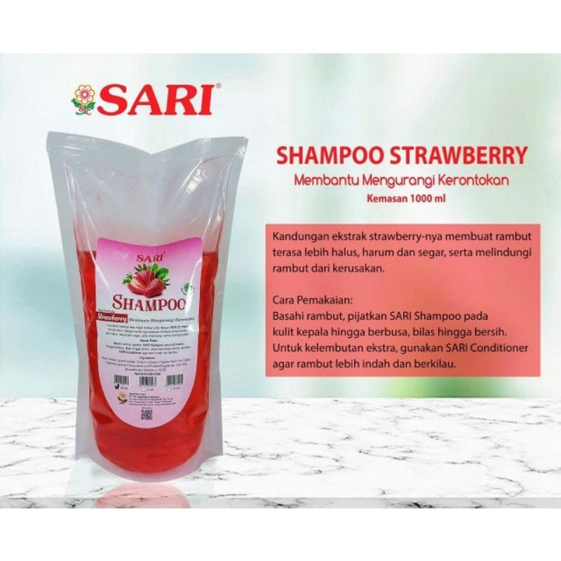 Shampoo Basic Strawberry Original - 1Liter.