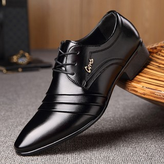 Sepatu Bisnis Casual Model Inggris Bahan Breathable untuk Pria   Shopee Indonesia