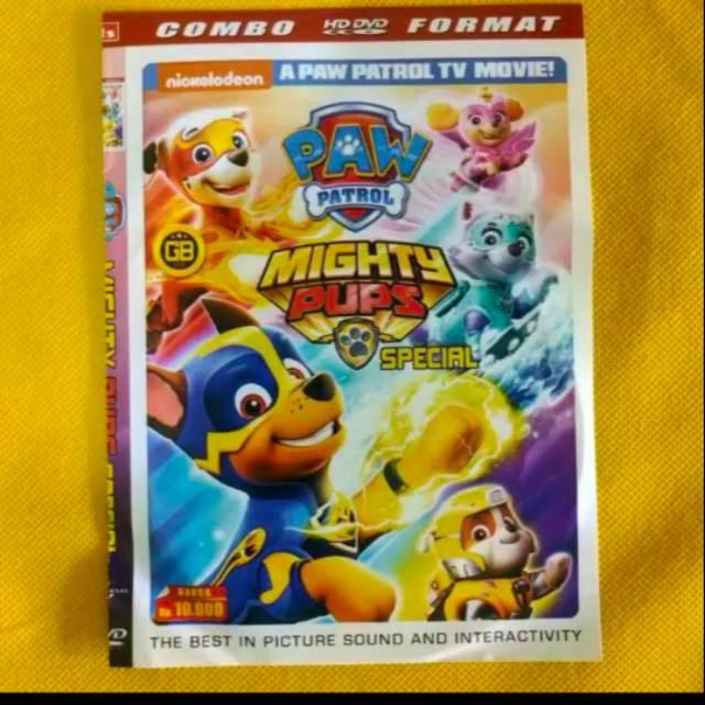 kaset dvd film paw patrol film anak anak kartun animasi