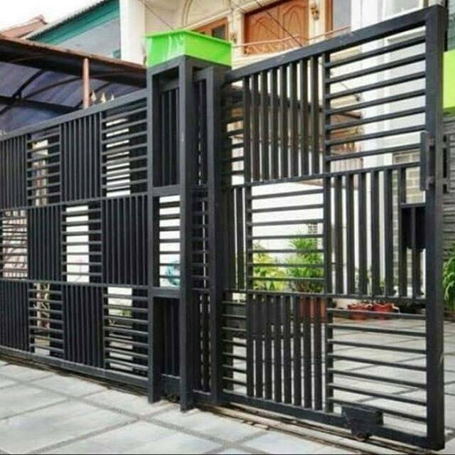 Pagar Minimalis /pagar Rumah /pintu Gerbang /pagar | Shopee Indonesia