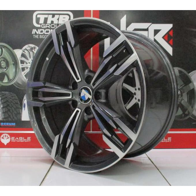 Teraris Velg Racing Mobil Bmw Ring 18 Hsr Tipe M6 Hole 5 Model Pelek Palang 5 Import