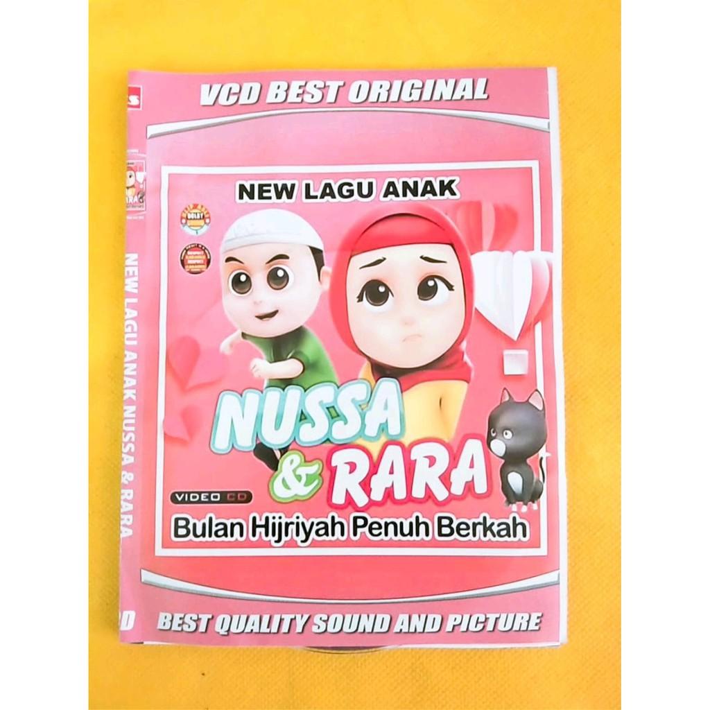 kaset video VCD Lagu Anak Terbaru NUSSA & RARA bulan Hijriah Penuh ...