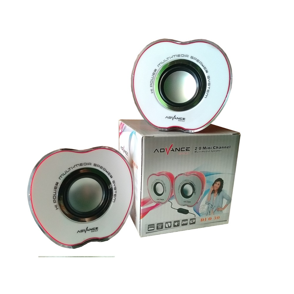 Speaker Advance Duo 040 Audio Mini Computer 300 Komputer Aktif Shopee Indonesia