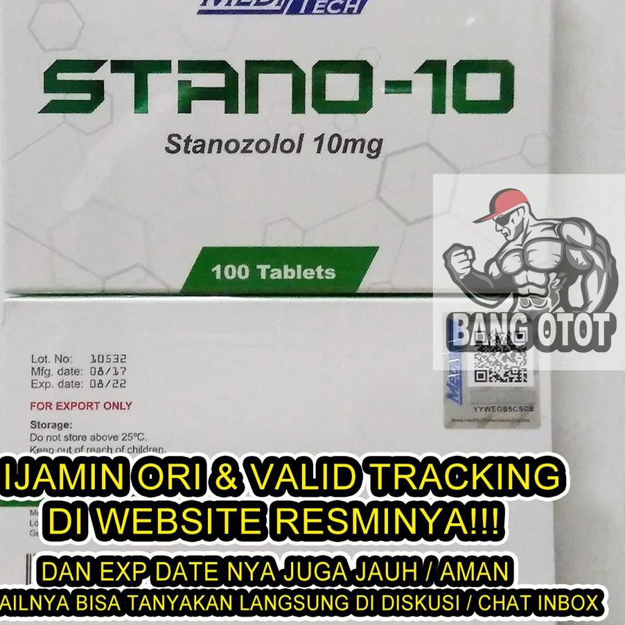 *(HARGA GROSIR) MediTech STANO-10 STANO 10 STANO10 Stanozolol 10 mg 10mg  100 Tabs 100Tabs 100 Tablet