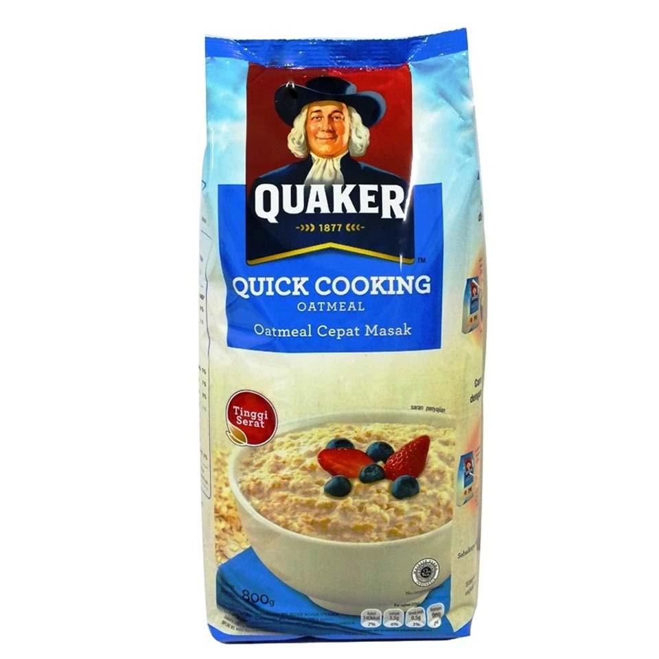 Gandum Quaker 800gr Quick Biru Refill Maju Bersama Shopee Indonesia