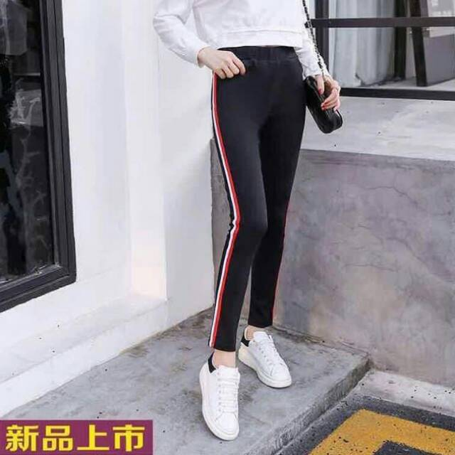 Legging Bahan Scuba Fit To L Shopee Indonesia