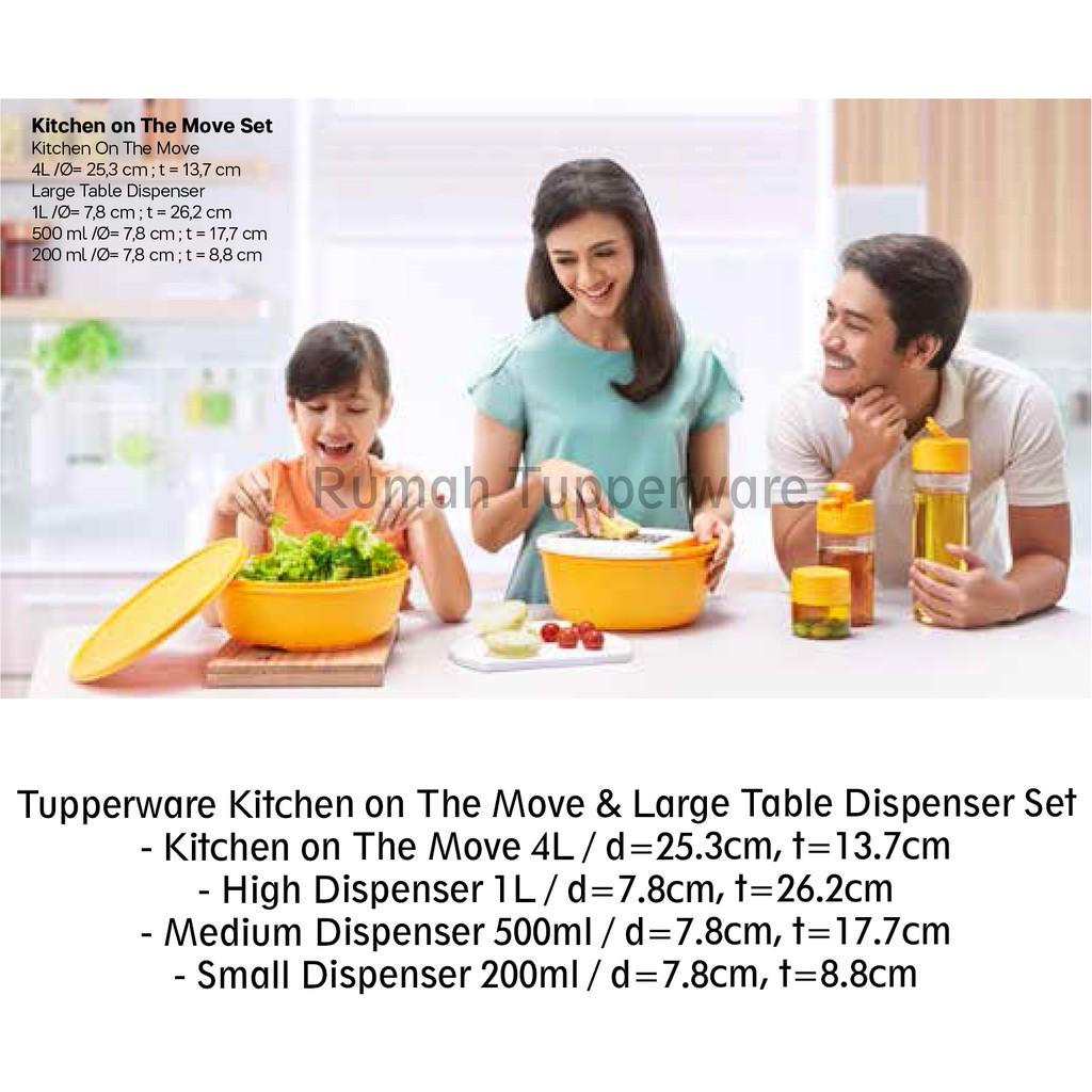 Tupperware picnic set trio shopee indonesia
