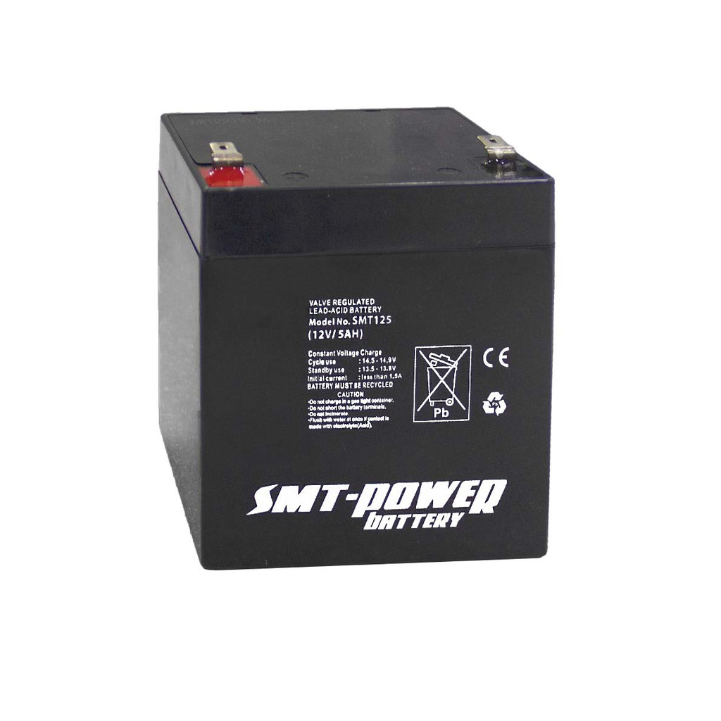 12v 5ah Battery >> Battery Smt Power Battery Deep Cycle Baterai Aki Kering 12v 5ah