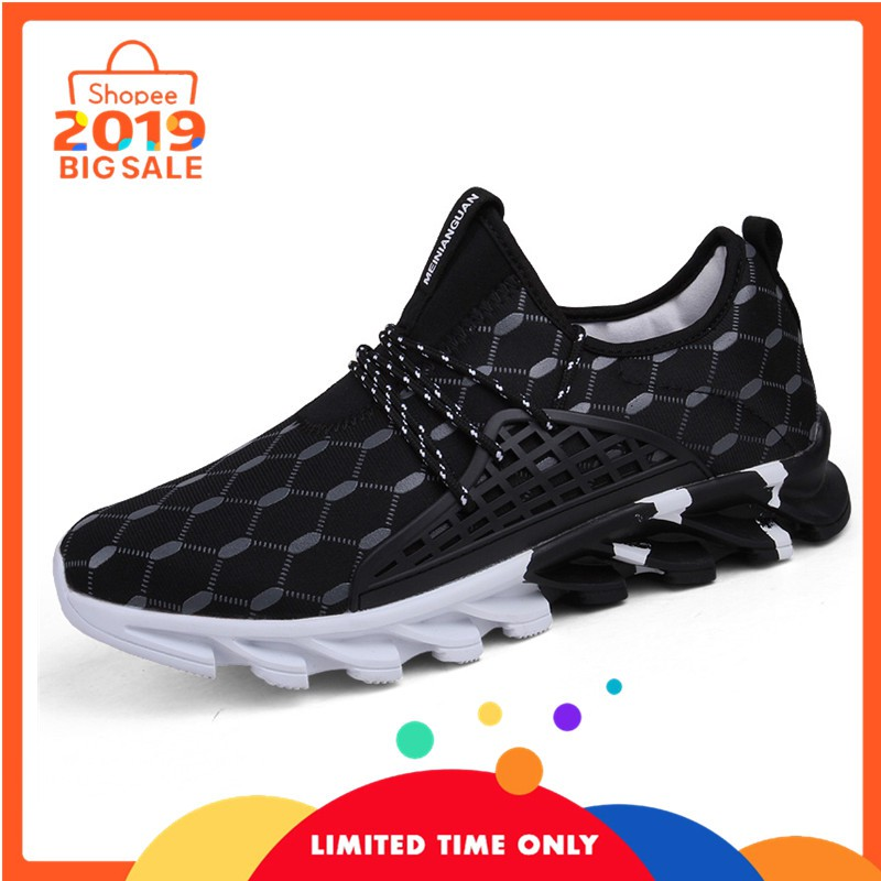 Sepatu pria sepatu olahraga UK 39~46 sepatu kasual sepatu mesh sepatu ringan | Shopee Indonesia